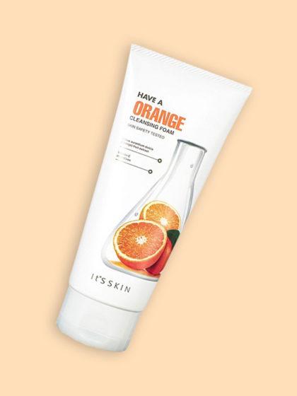 skincare-kbeauty-glowtime-it's skin Have a Orange Cleansing Foam