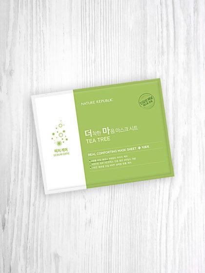 skincare-kbeauty-glowtime-Nature Republic Real Comforting Tea Tree Sebum Control