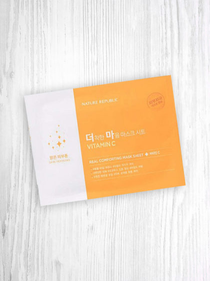 skincare-kbeauty-glowtime-skin refining-Nature Republic Real Comforting Vitamin C-