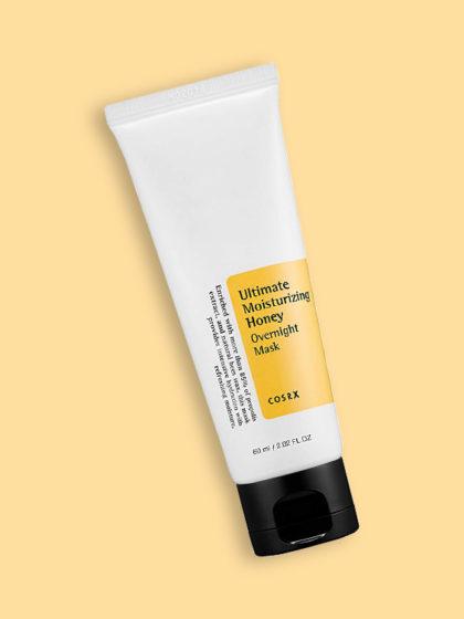 skincare-kbeauty-glowtime-cosrx ultimate moisturizing honey overnight mask