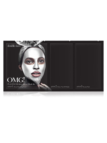skincare-kbeauty-glowtime-double dare-OMG platinum -silver facial mask kit