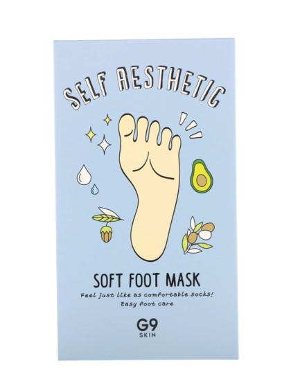 skincare-kbeauty-glowtime-self aesthetic soft foot mask