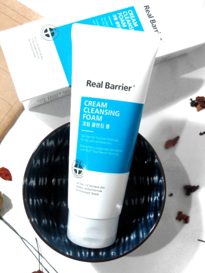 skinicare-kbeauty-glowtime-real barrier-cream cleansing foam