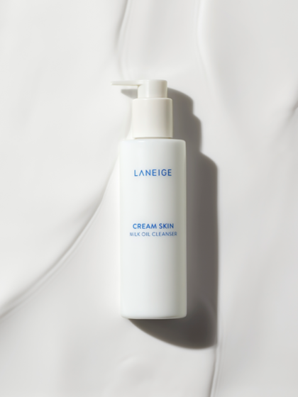 skincare-kbeauty-glowtime-laneige cream skin milk oil cleanser