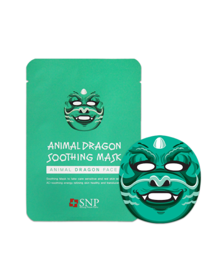 skincare-kbeauty-glowtime-SNP Animal Dragon Soothing Mask
