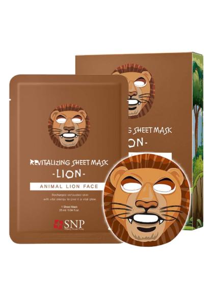 skincare-kbeauty-glowtime-SNP Animal Lion Revitalizing