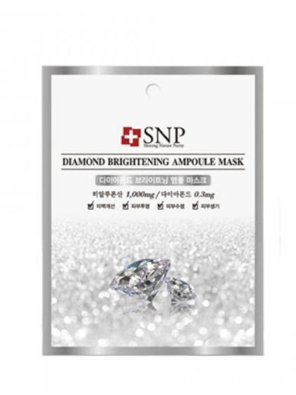 skincare-kbeauty-glowtime-SNP Diamond Brightening Mask