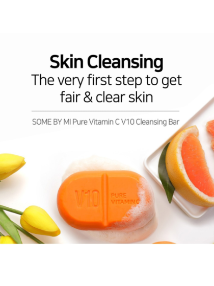 skincare-kbeauty-glowtime-Some By Mi Pure Vitamin C V10 Cleansing Bar