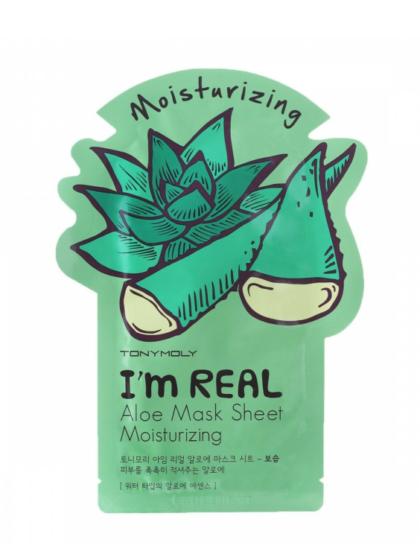 skincarae-kbeauty-glowtime-Tony Moly I'm Real Aloe Moiturizing