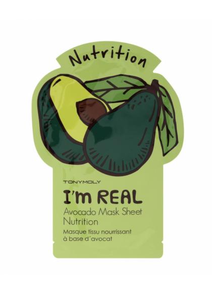 skincare-kbeauty-glowtime-Tony Moly I'm Real Avocado Nutrition