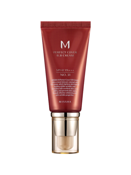 skincare-kbeauty-glowtime-Missha M Perfect Cover BB Cream No 31