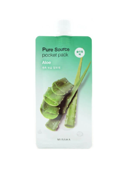 skincare-kbeauty-glowtime-Missha Pure Source Pocket Pack Aloe