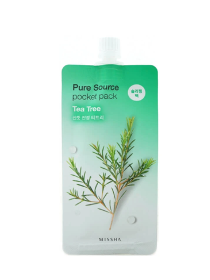 skincare-kbeauty-glowtime-Missha Pure Source Pocket Pack Tea Tree