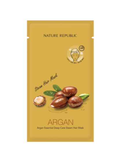 skincare-kbeauty-glowtime-Nature Republic Argan Essential Deep Care Steam Hair Mask