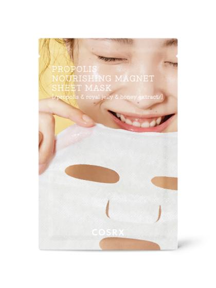 skincare-kbeauty-glowtime-COSRX Propolis-Magnet-Nourishing Sheet Mask
