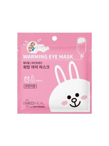 skincare-kbeauty-glowtime-Mediheal Warming Eye mask Rabbit Lavender