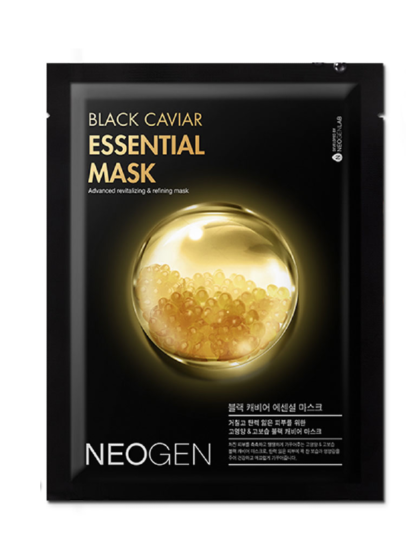 skincare-kbeauty-glowtime-Neogen Black Caviar Essential Mask