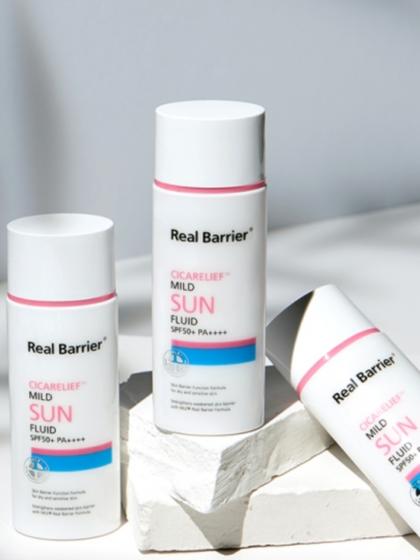 skincare-kbeauty-glowtime-Real Barrier- Cica Relief-Mild Sun Fluid SPF 50 PA++++