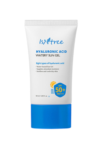 skincare-kbeauty-glowtime-Isntree Hyaluronic Acid Watery Sun Gel
