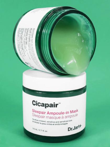 skincare-kbeauty-glowtime-.Dr Jart Cicapair Sleepair Ampoule in Mask